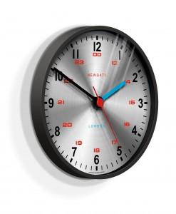 BLACK NEWGATE SCIENTIST WALL CLOCK | Utilitarian Functional Clock