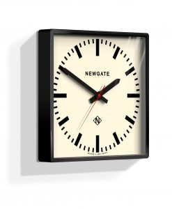 UNDERPASS WALL CLOCK GLOSS BLACK - Industrial Style
