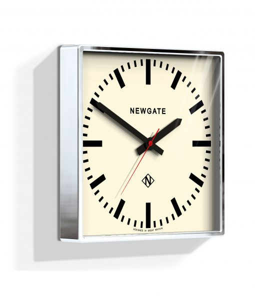 UNDERPASS CHROME WALL CLOCK - Industrial Style