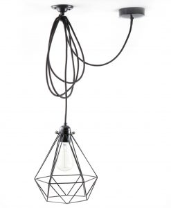 Diamond_cage_ceiling _light_black-2-2