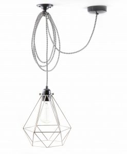 Diamond_cage_ceiling _light_silver_white-black-2-2