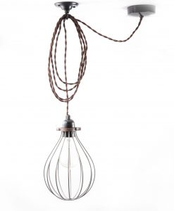 balloon_cage_ceiling _light_steel_brown_twisted-2