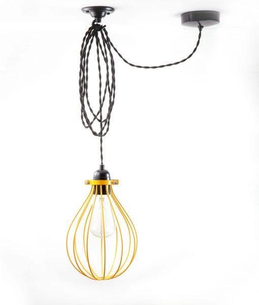 Ceiling Lights Yellow : Balloon cage pendant light yellow dowsing reynolds