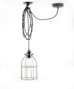 domed_cage_ceiling _light_steel_black_twisted-2