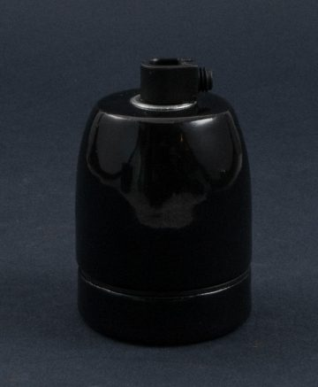 BLACK PORCELAIN E27