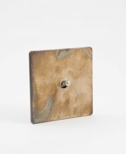 Toggle Light Switch 1 Toggle Smoked Gold & SIlver