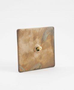 Toggle Light Switch 1 Toggle Smoked Gold