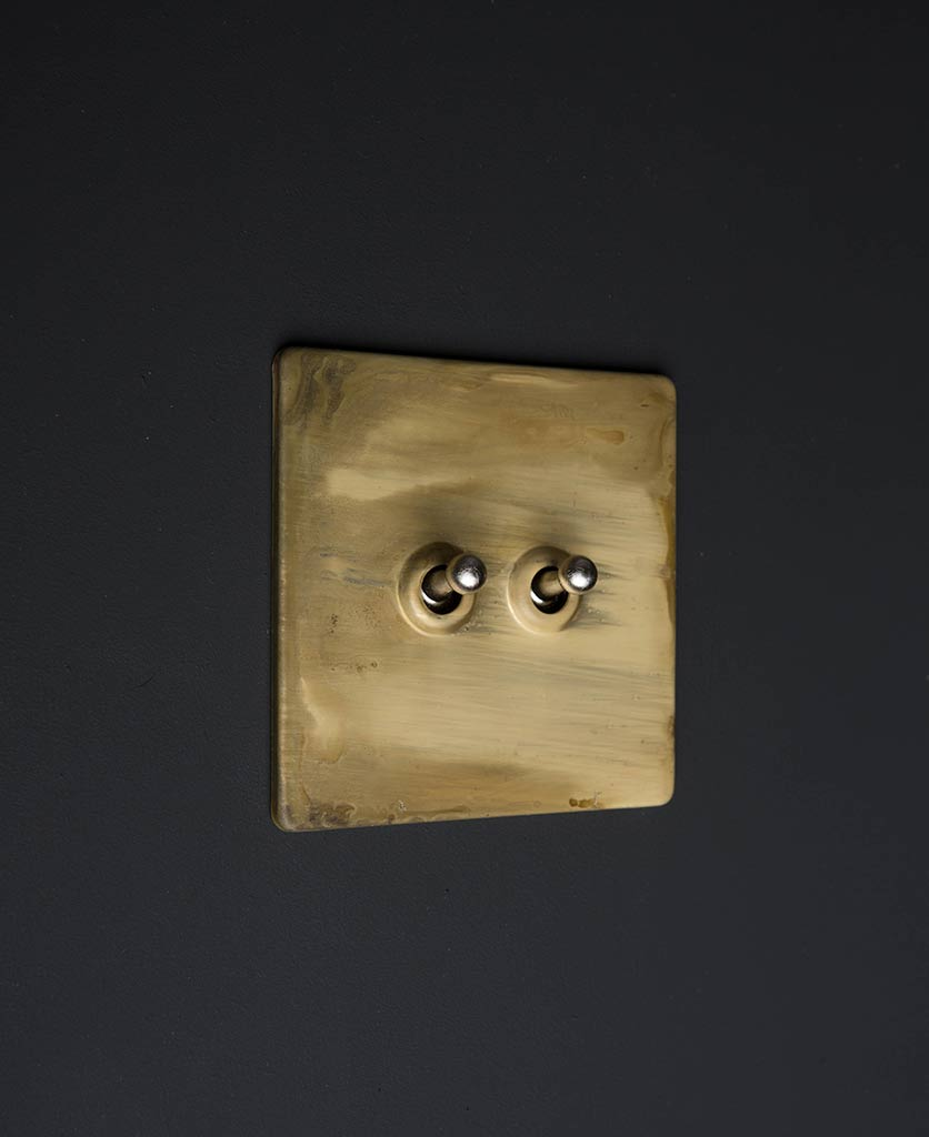 Smoked Gold & Silver Double Toggle