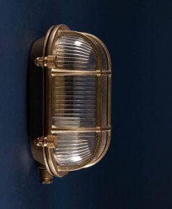 steve posh polished brass bulkhead light
