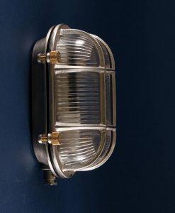 Bulkhead Light Steve posh Silver