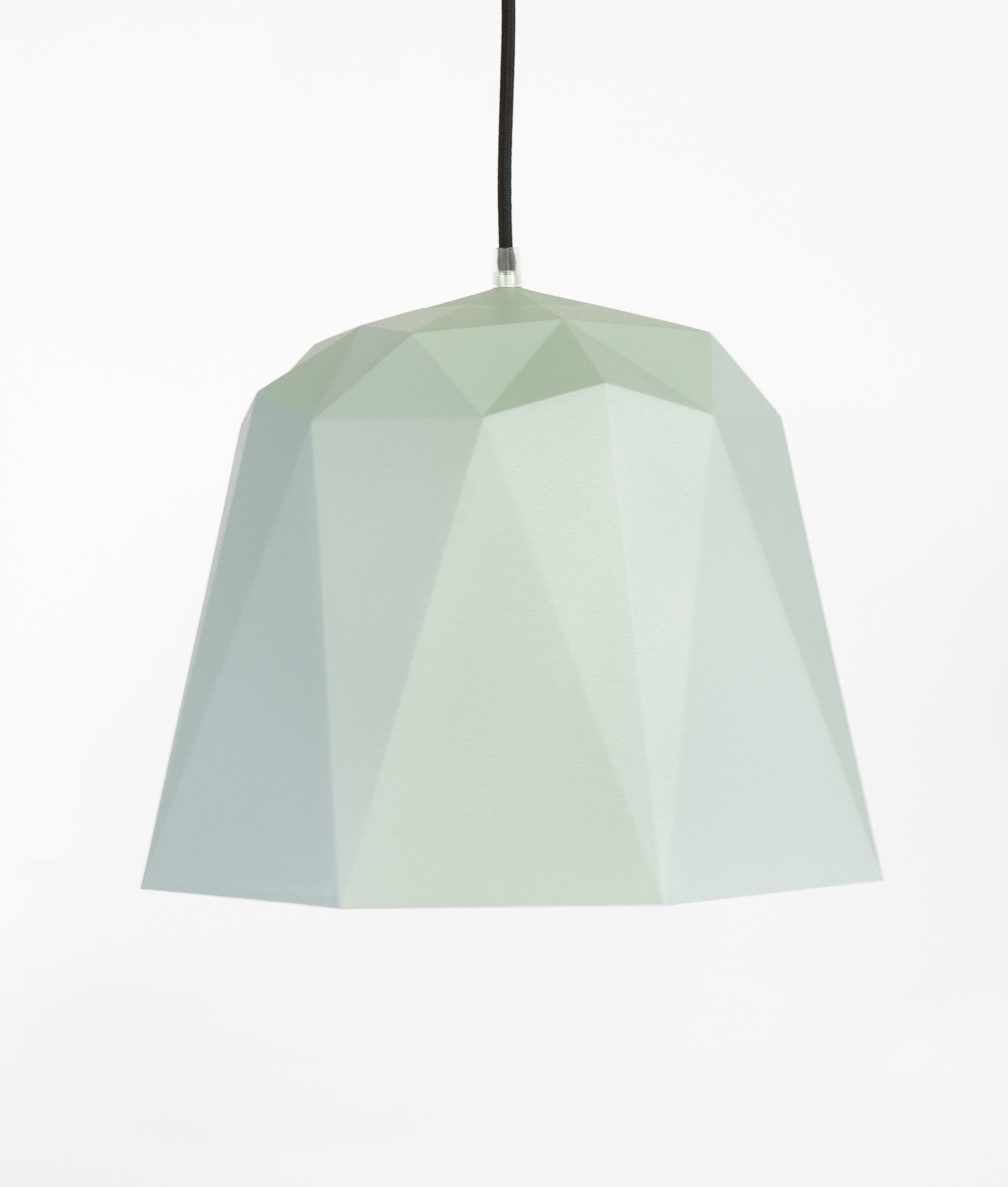 Geometric Pendant Light Osaka Grey Texture