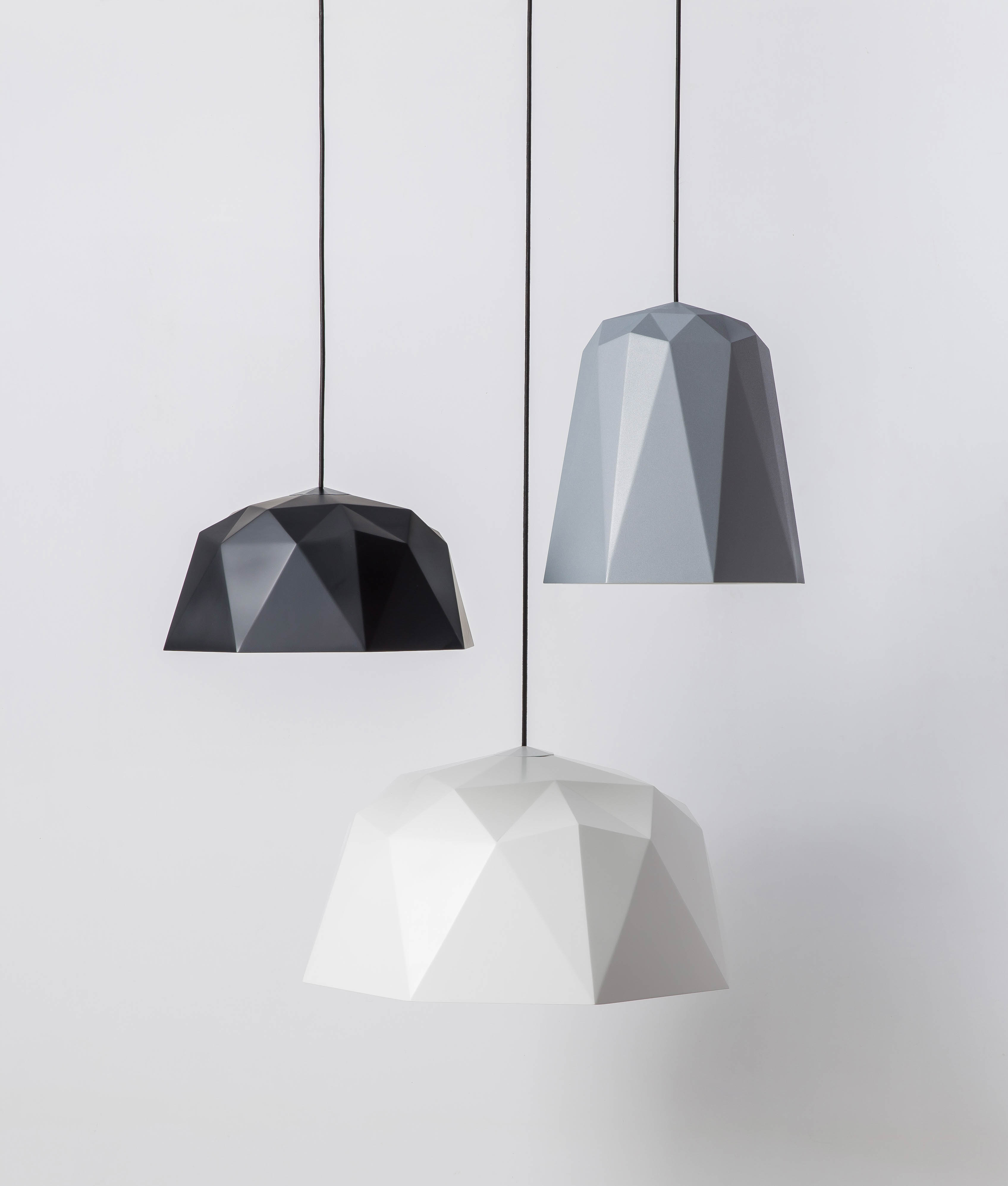 Geometric Pendant Light Kyoto White