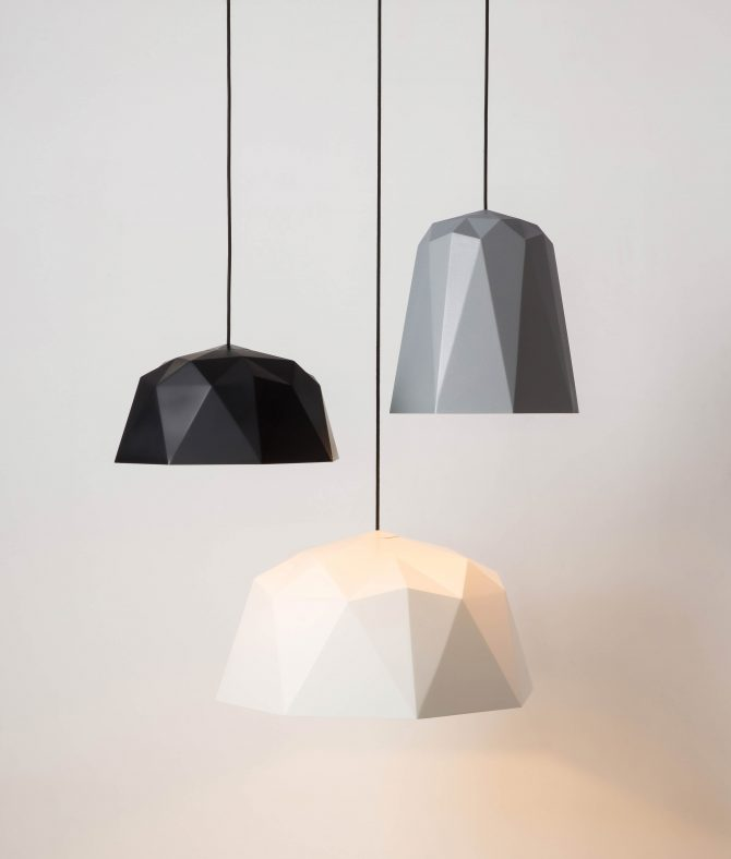 new geometric pendant light shade range