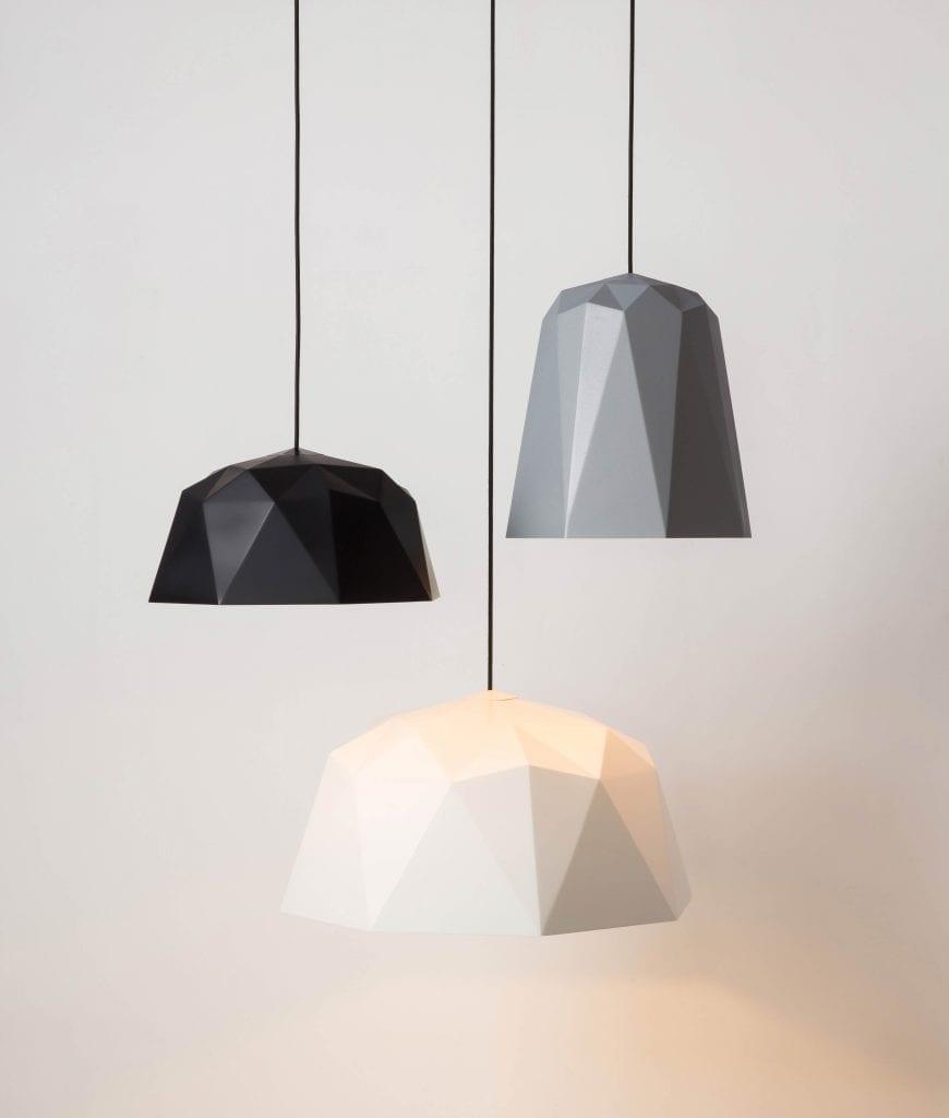 new geometric pendant light shade range