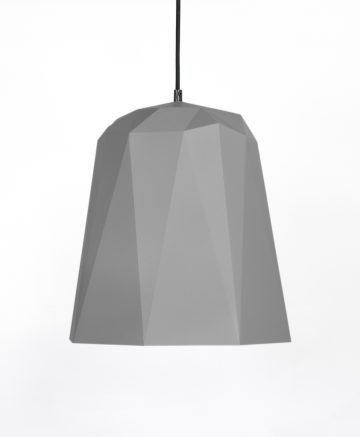 Geometric pendant light nagoya grey