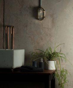 industrial bathroom lighting steve posh polished brass