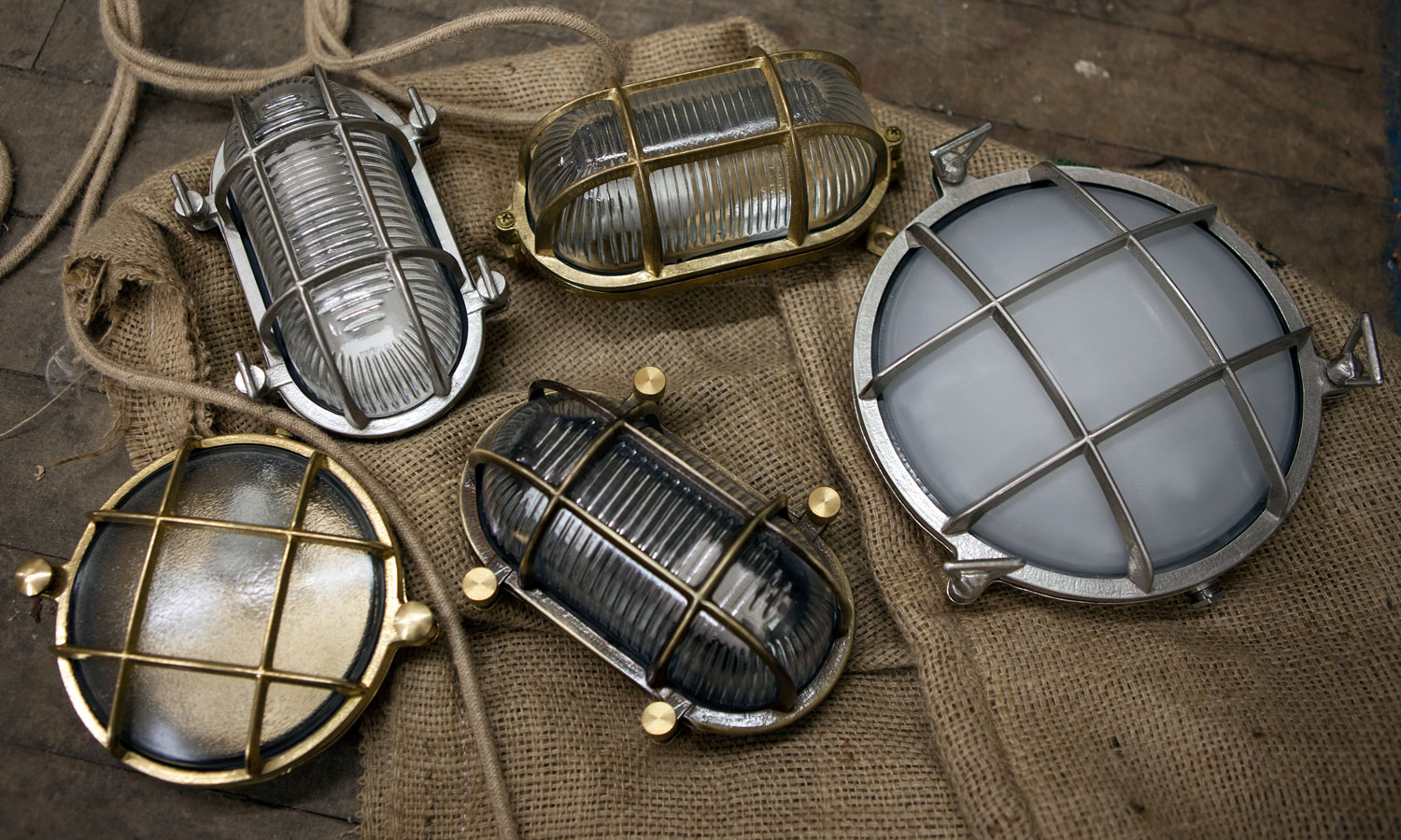 Bulkhead Lighting Nautical To Industrial Style Wall Lights