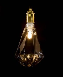 clear diamond shaped bulb
