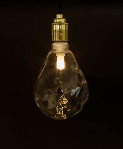 pear shaped geometric bulb