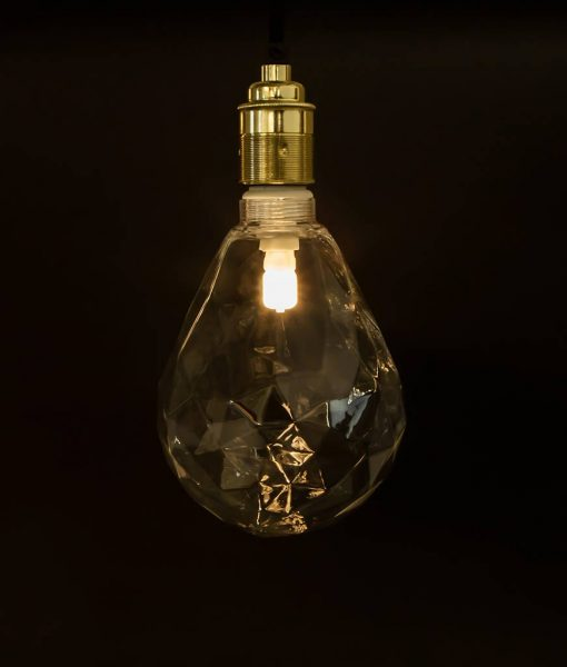 pear shaped geometric bulb