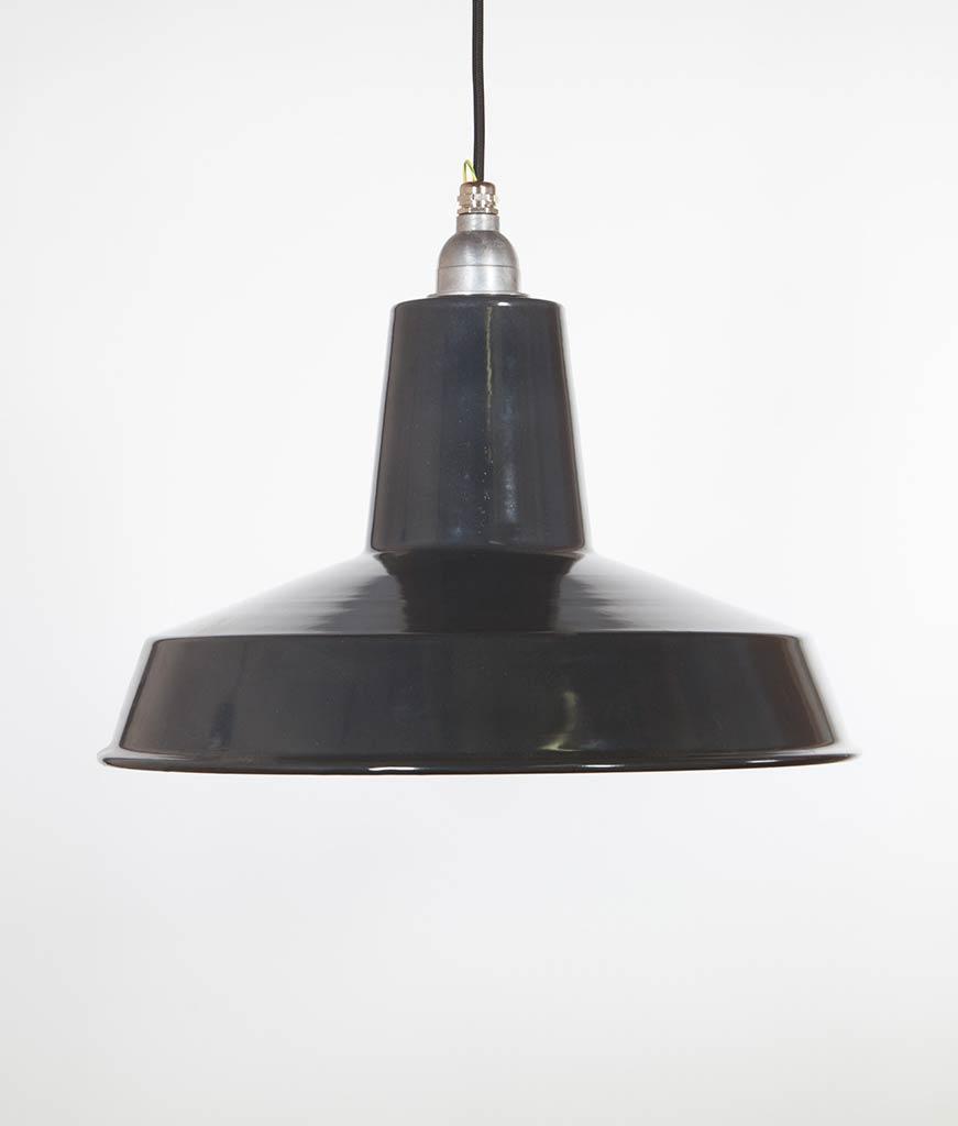 LINTON Grey Industrial Lighting