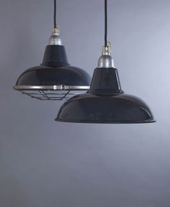Morley Grey Industrial Lighting - Dark Grey Industrial Kitchen Lighting
