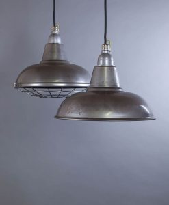 Morley raw steel industrial lighting for creating an unfinished feature in your interior