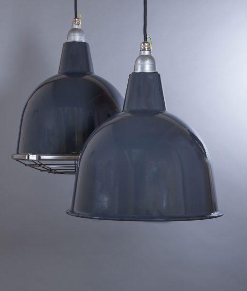 Grey Enamel Pendant Light Stourton Industrial Ceiling Light