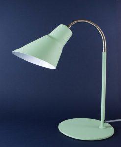 Gooseneck Lamp Green Desk Table Lamp