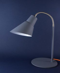 Gooseneck Lamp Grey Desk Table Lamp