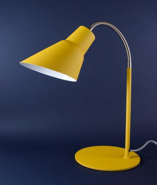 Gooseneck Lamp Yellow Desk Table Lamp