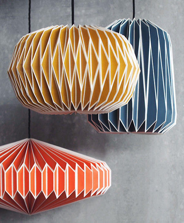 Origami Light Shades Geometric Paper Lamp Shades