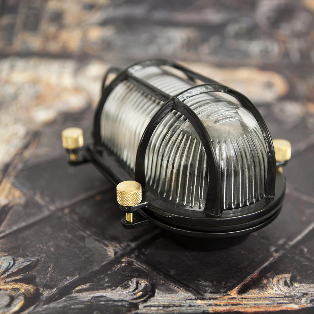 Bulkhead light - Steve's Posh Cousin Black