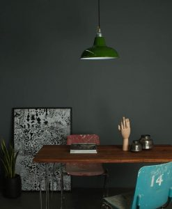 industrial styel lighting enamel pendant