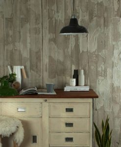 grey enamel industrial style light