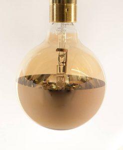 halogen reflector bulb gold mirrored