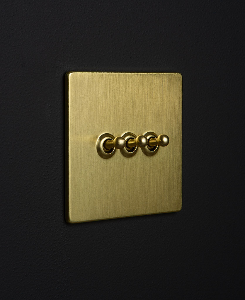 Gold Triple Toggle Gold Toggles