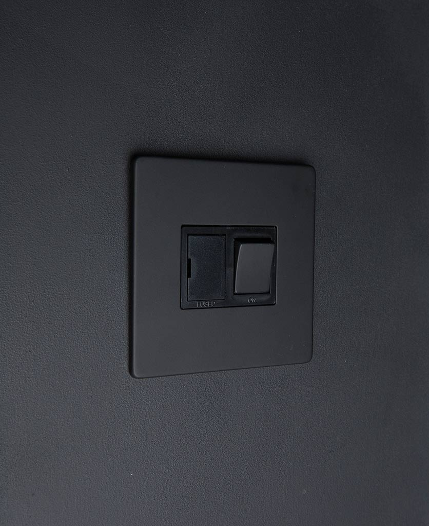 Black Fused Spur Switch With Black Or White Inserts