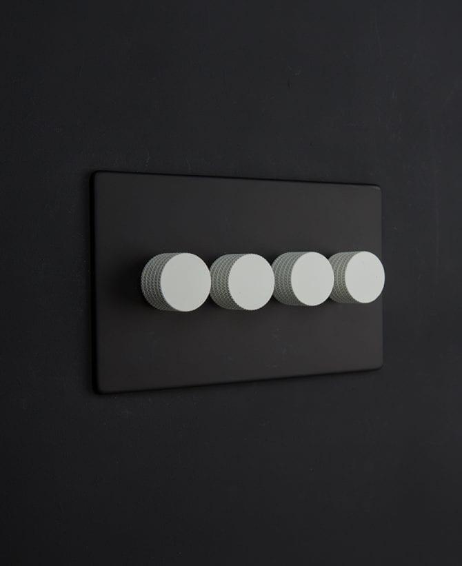 black & white quad dimmer
