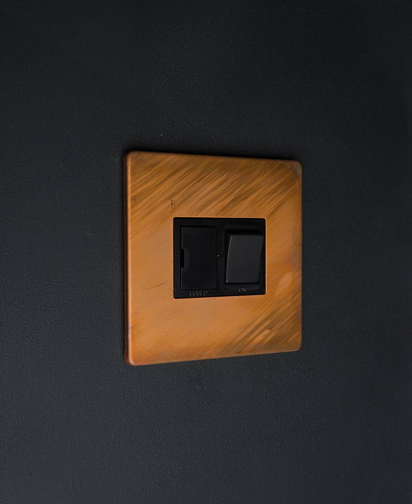 Copper Fused Spur Switch With Black Or White Inserts