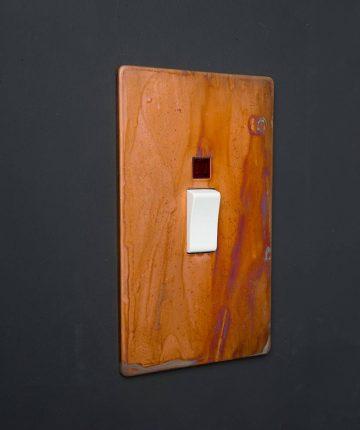 Copper & white Cooker Switch 45 AMP