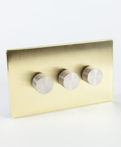 Designer Dimmer Switch Treble Gold & Silver Switch