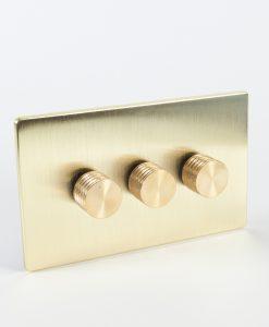Designer Dimmer Switch Treble Gold Designer Switch