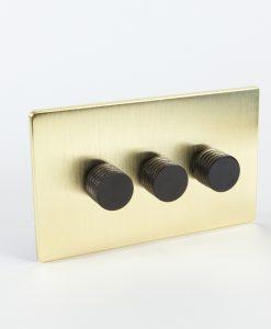Designer Dimmer Switch Treble Gold & Black Switch