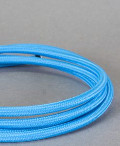 blue fabric cable
