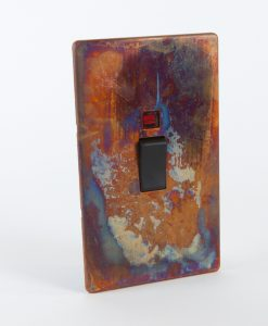 Cooker Switch 45 AMP Tarnished Copper & Black