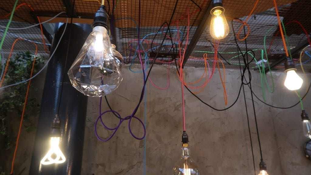 Lighting at 100% Design Show