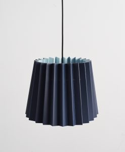 Little Greene lampshade Basalt & Brighton