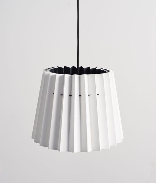 Little Greene lampshade Loft white & jack black