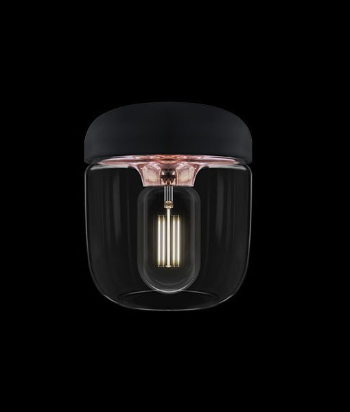Vita Light Shade Acorn Polished Copper Pendant Light
